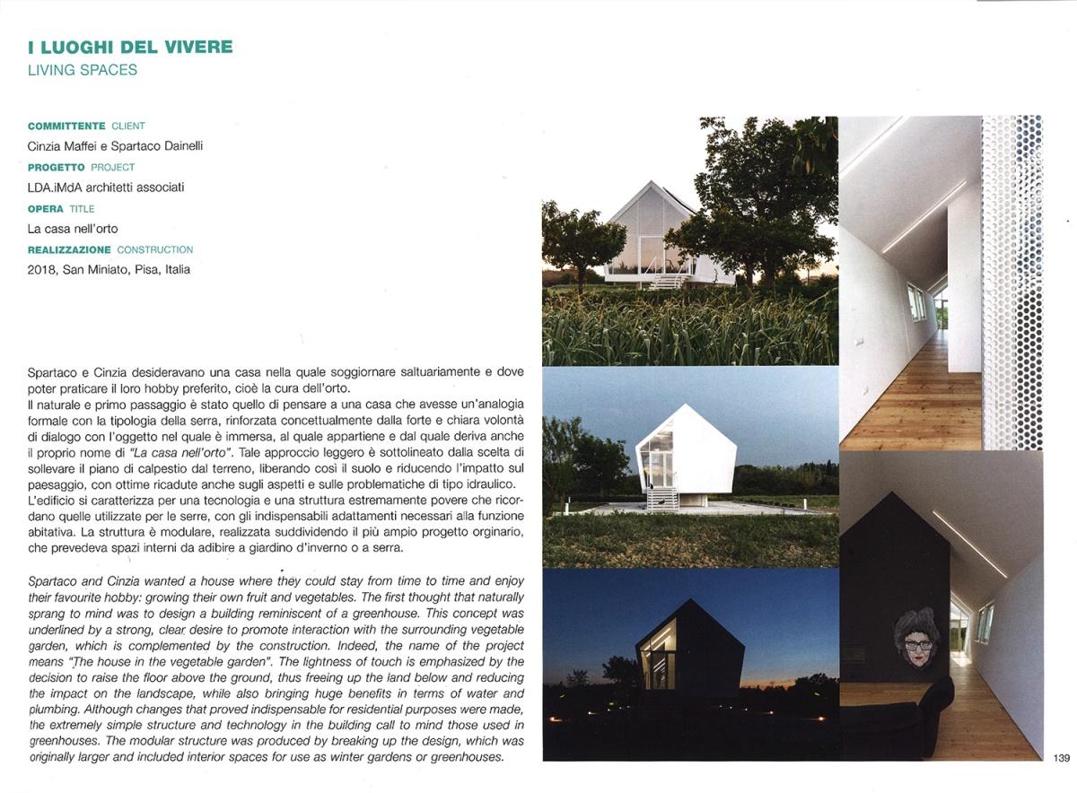 dedalo minosse catalogo premio internazionale architettura casa orto