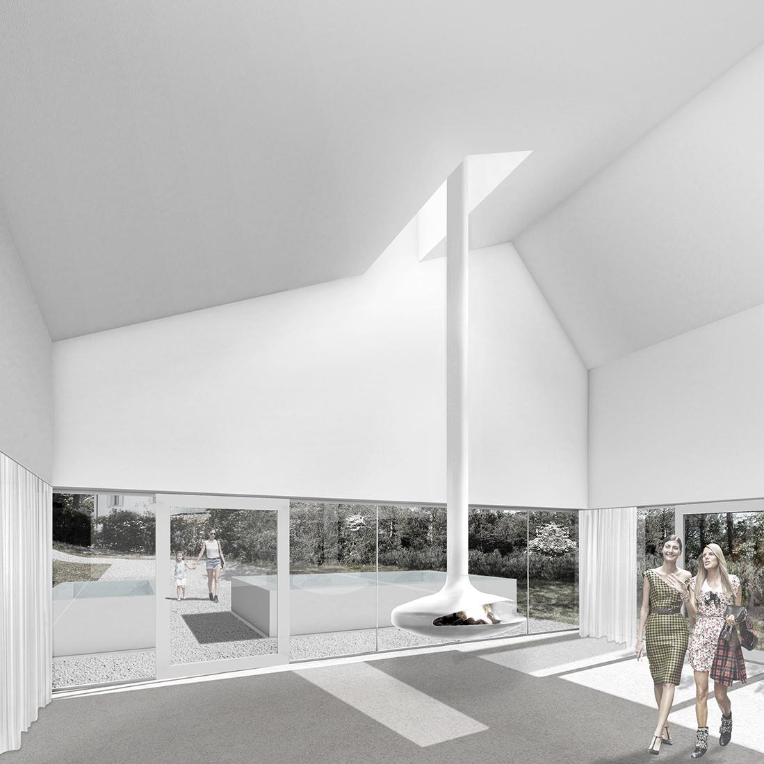 foto interno ampliamento design villa 7047