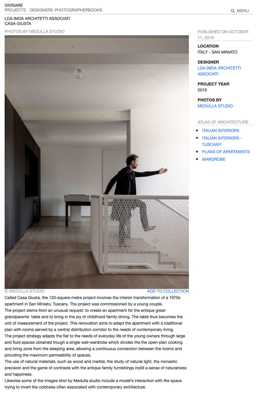 immagine openspace cucina scale e persona