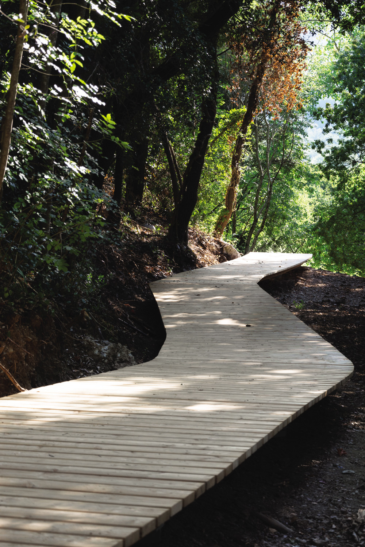 percorso benessere paesaggio bosco rtoscana sasso pisano