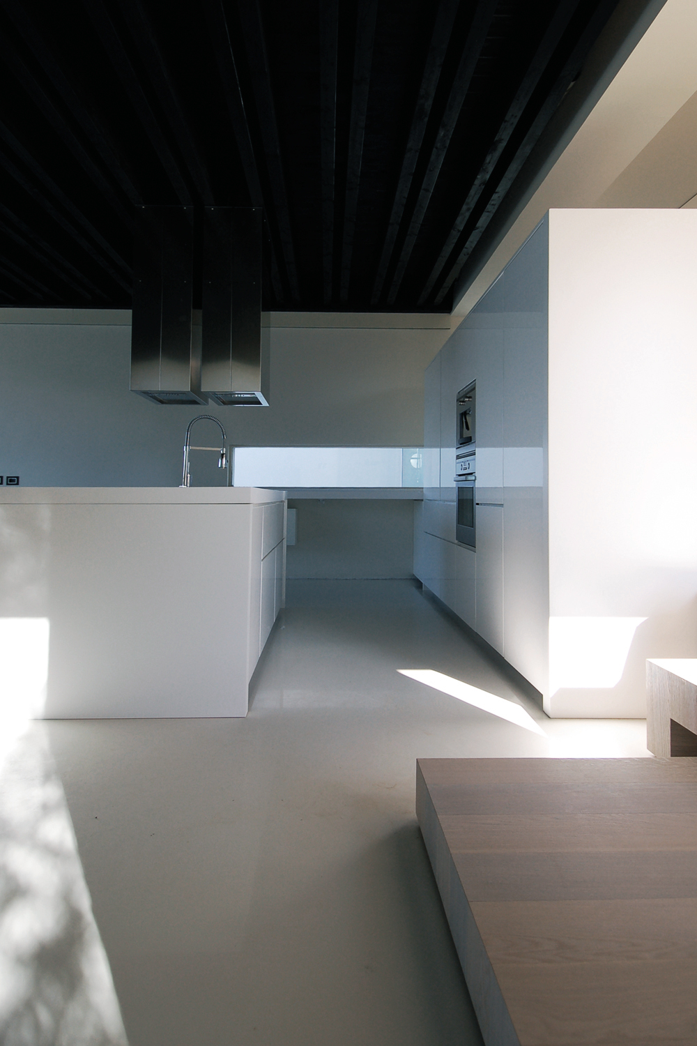 interno cucina di design