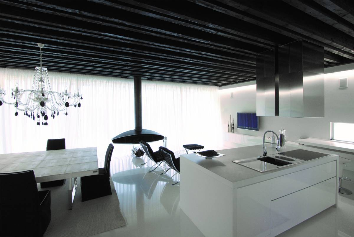 cucina contemporanea di design