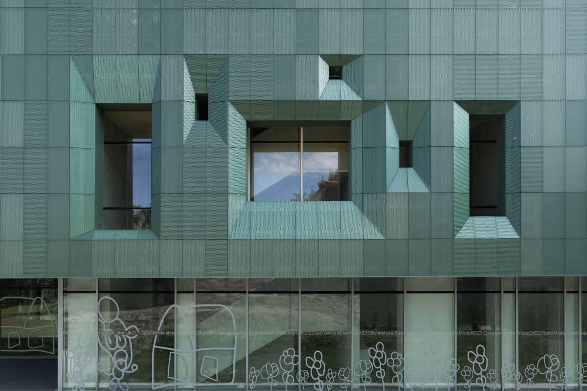 facciata ca verde innovazione contemporanea