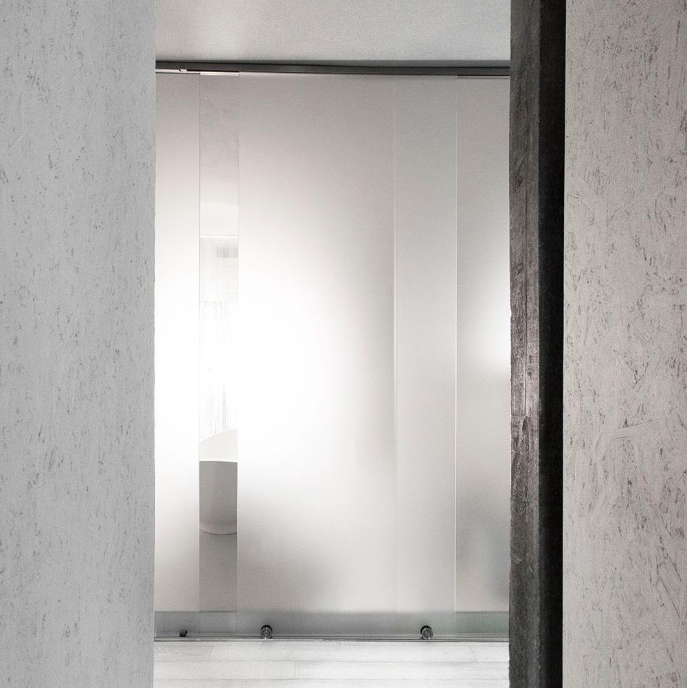 vetro satinato luce ombra