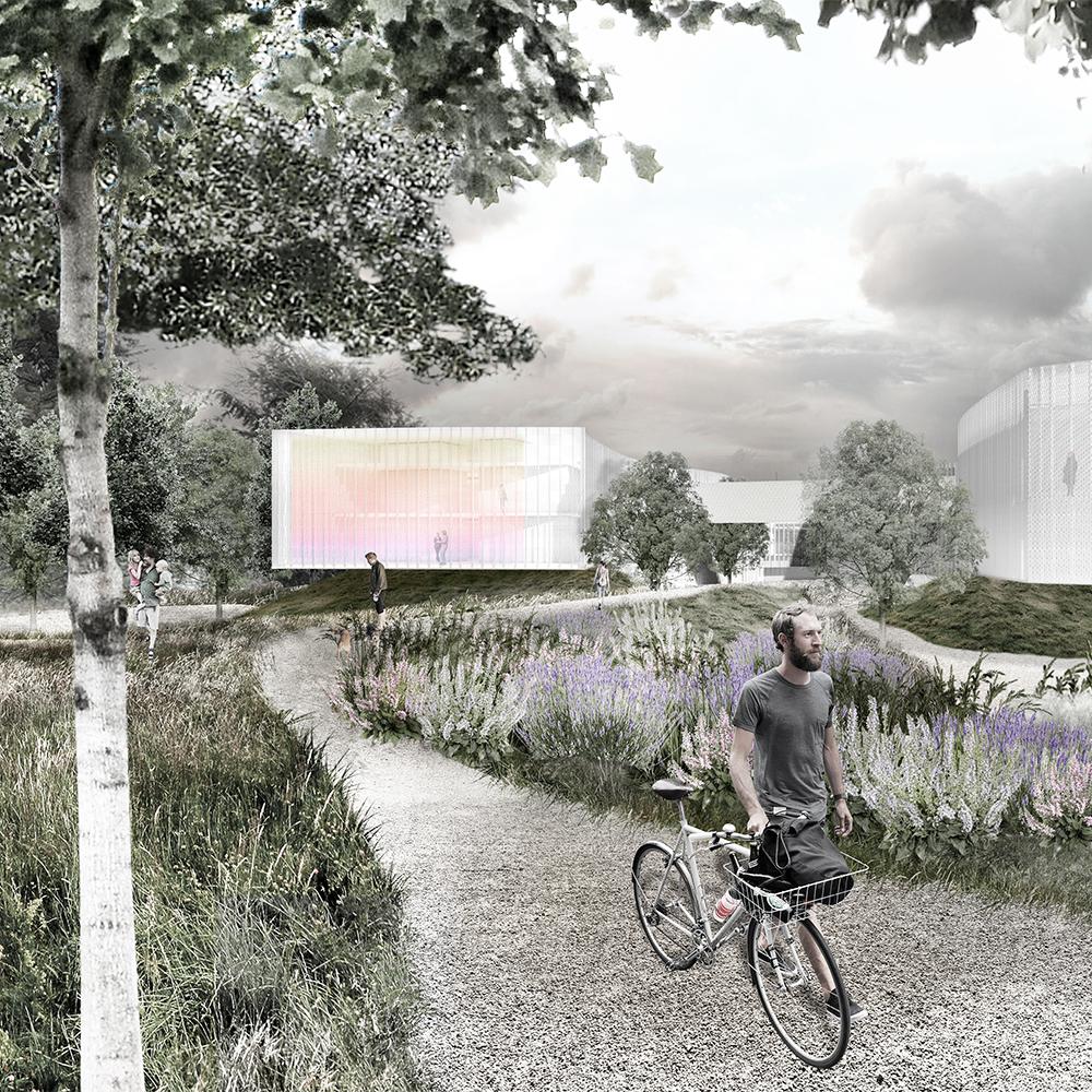 Concorso Ospedale Stella Maris Pisa architettura contemporanea per la cura