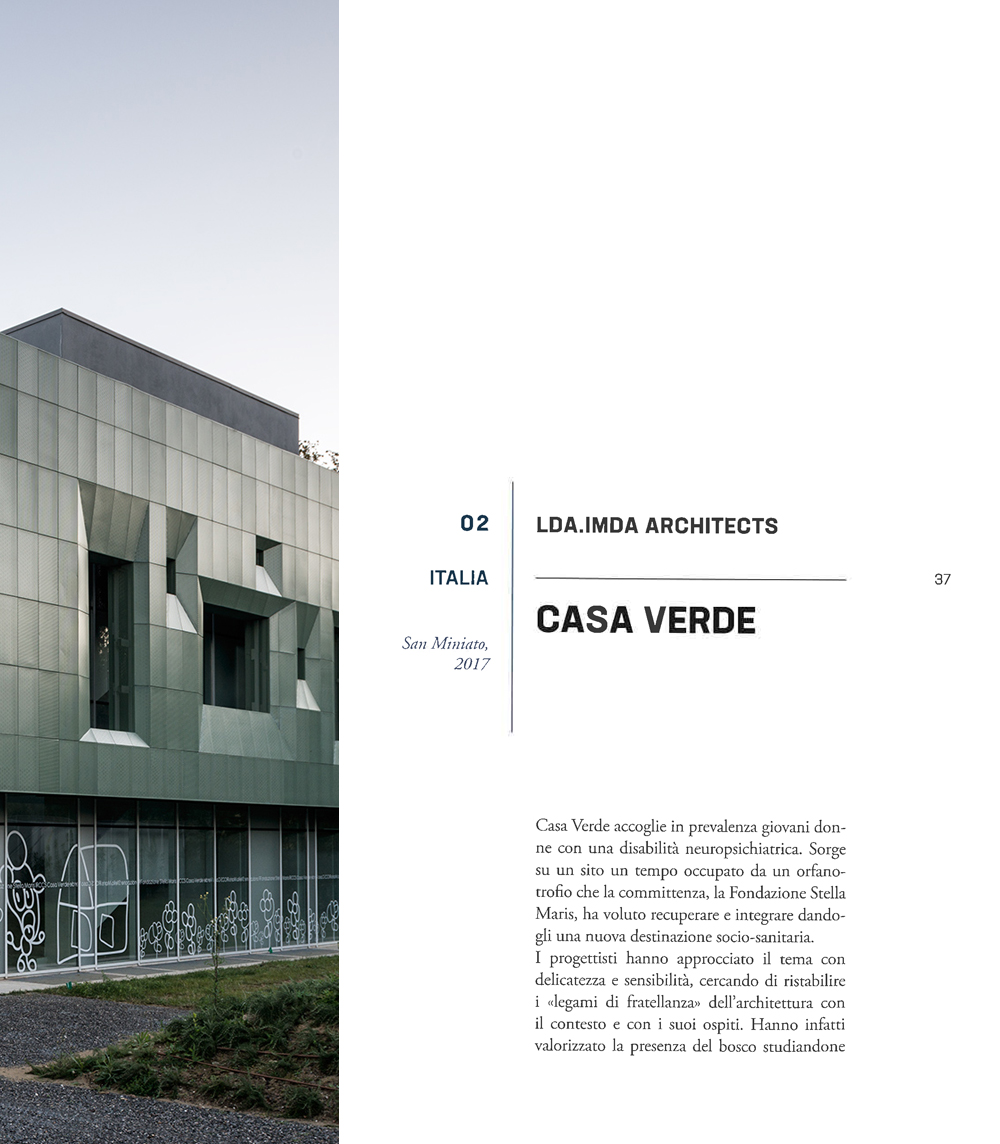 casa verde residenza sanitaria per disabilità neuropsichiche san miniato pisa spazi per la cura corriere della sera