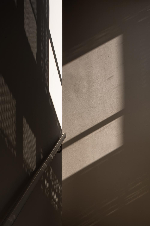 dettaglio del progetto di interni di architettura con luce naturale