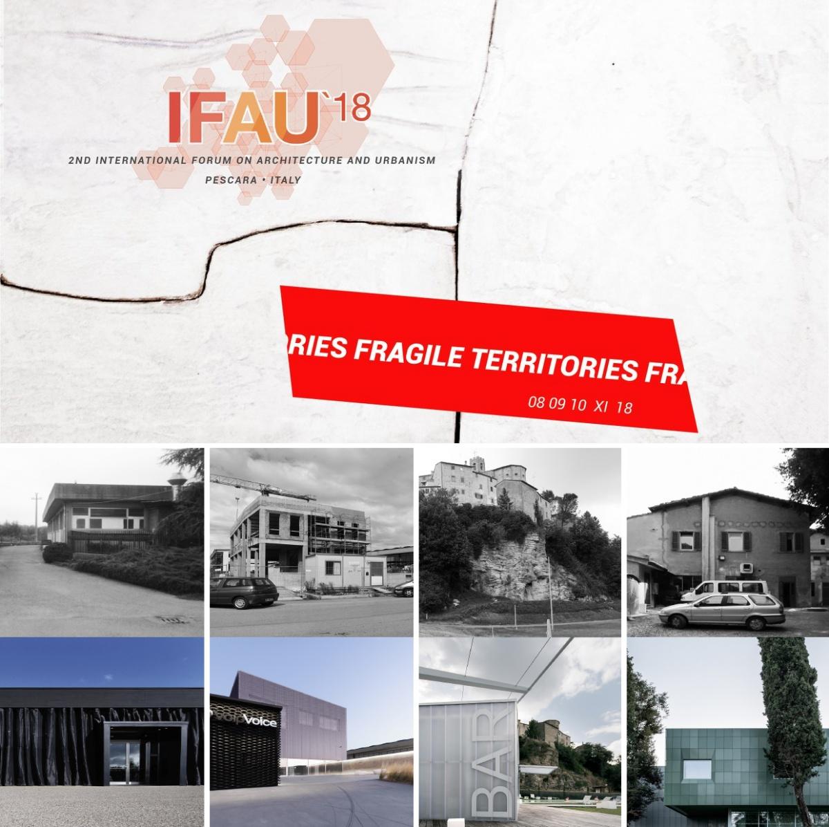 ifau territori fragili pescara forum internazionale architettura ambiente paolo posarelli