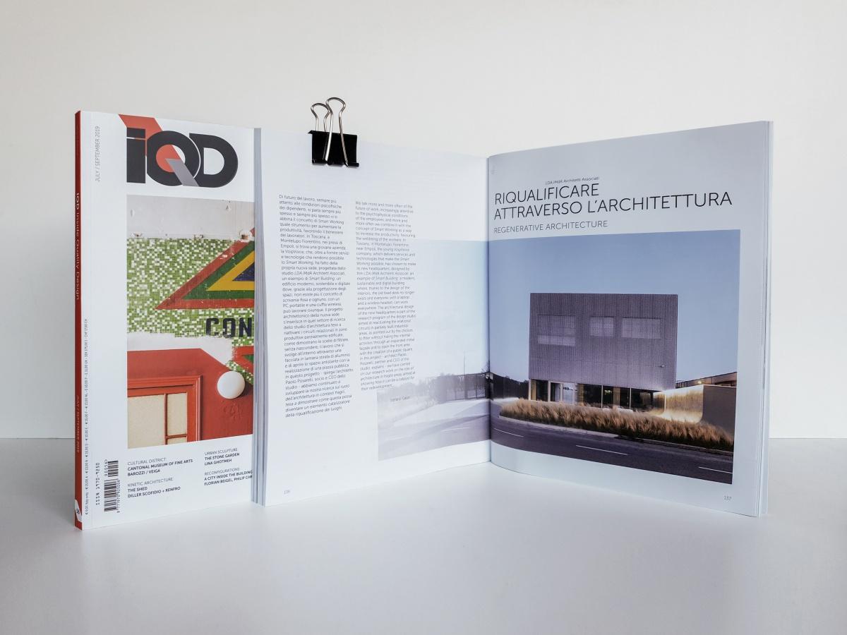 iqd inside quality design rivista con pubblicato casa nell'orto