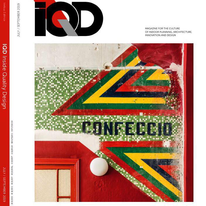 copertina rivista iqd inside quality design roberta busnelli milano ldaimda