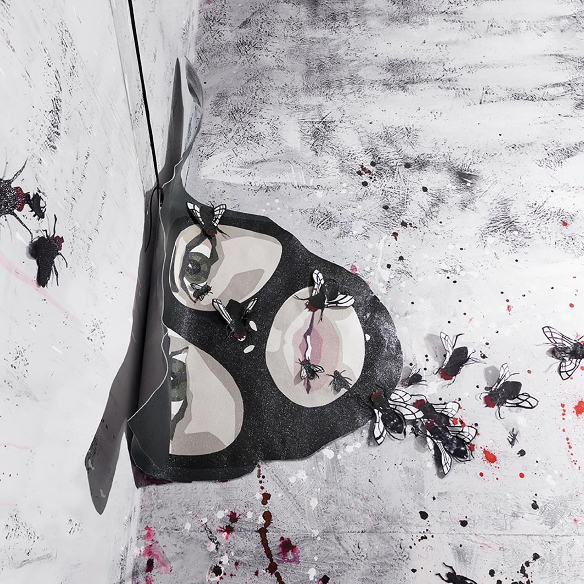medulla-studio-mercurio-s17s71-pop-art-pelle-dipinto-fotografia