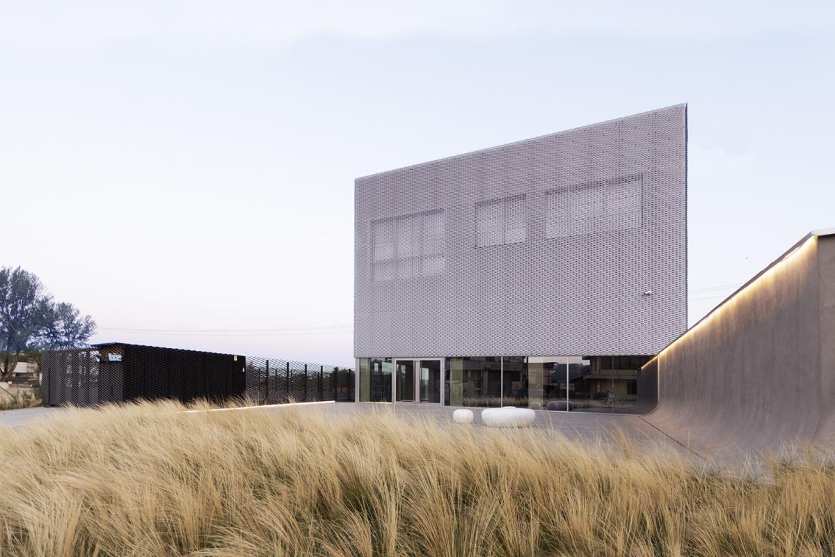 voipvoice headquarters progetto di uffici contemporanei vista esterna